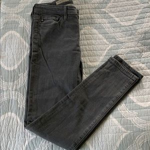 AG The Stevie Ankle skinny jeans